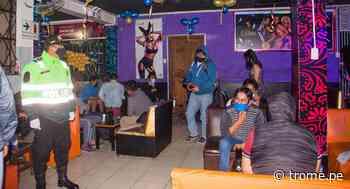 Moquegua: Clausuran local nocturno que funcionaba pese a emergencia sanitaria en Ilo - Diario Trome