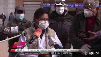 Reportan 53 personas con coronavirus en Patacamaya - eju.tv