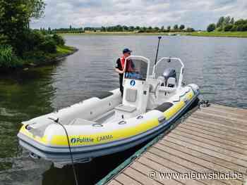 Politieboot stelt tientallen overtredingen vast op Maasplass... (Kinrooi) - Het Nieuwsblad