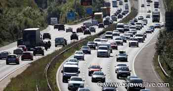 Influx of visitors expected on roads into Devon and Cornwall - Cornwall Live