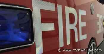 Firefighters are tackling major fire near Liskeard- live updates - Cornwall Live