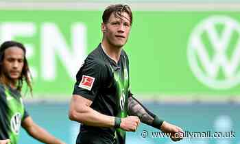 Arsenal 'set to move for £32m 6ft 5in Wolfsburg striker Wout Weghorst' and will battle Newcastle