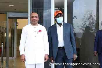 Gov. Obaseki Arrives Uyo To Confer With Gov. Udom - The Nigerian Voice