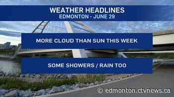 Edmonton weather for Monday, July 29 - CTV News