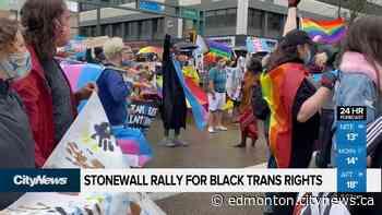 Rally for black trans rights in downtown Edmonton - CityNews Edmonton