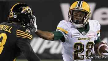 Edmonton Eskimos release player for posting homophobic tweet - CBC.ca