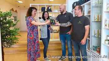 Freudenstadt: Neues Geschäft verkauft Hanf-Produkte - Freudenstadt - Schwarzwälder Bote