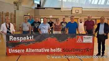 Kreis Freudenstadt : IG Metall stellt sich auf Kampf um Arbeitsplätze ein - Freudenstadt - Schwarzwälder Bote