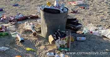 Cornish beach 'feels like Benidorm' as lockdown is lifted - Cornwall Live