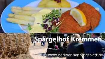 Ein Ausflug zum Spargelhof in Kremmen ist immer ein Besuch wert! - Berliner-Sonntagsblatt