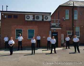 SE London police offer children support during lockdown
