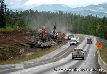 Major Alaska Highway corner being rebuilt - Whitehorse Star