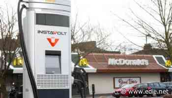 McDonald's to install EV chargers at all UK drive-thrus