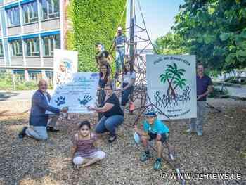 Löwenstarke Partnerschaft: Lions Club fördert Insel-Grundschule in Pforzheim - Pforzheim - Pforzheimer Zeitung