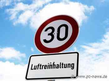 Tempo 30 in nahezu ganz Pforzheim? Über diese neuen Punkte im städtischen Lärmaktionsplan soll der Gemeinderat abstimmen - Pforzheim - Pforzheimer Zeitung