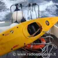 Naufragio in canoa, paura al largo di Chiavari - Radio Aldebaran Chiavari