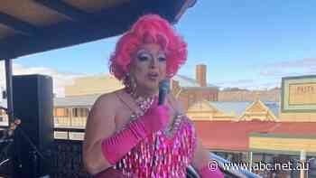 Broken Hill businessman dons drag after town raises over $60,000 for its Lifeline - ABC News