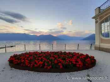 I colori dell'estate in riva al lago a Palazzo Verbania, la foto è di Angela Cattel - Luino Notizie
