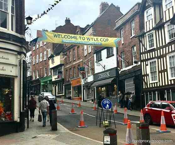 Centre of Shrewsbury set to remain traffic-free until end of summer