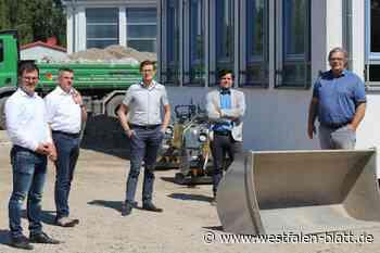 Ausbau startet plangemäß - Westfalen-Blatt