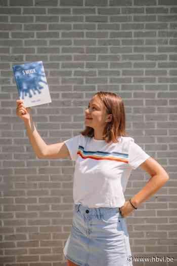 16-jarige Sanne schrijft boek tijdens lockdown - Het Belang van Limburg