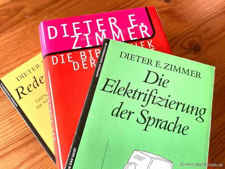 Der Elektrifizierer der Sprache: Dieter E. Zimmer ist tot