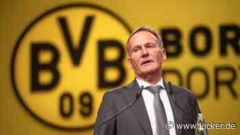"""Watzke """"spielt nicht mehr mit"""": BVB gibt kein Saisonziel mehr aus"""