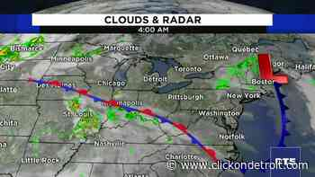 Metro Detroit weather: Tons of sun with temps in the upper 80s - WDIV ClickOnDetroit