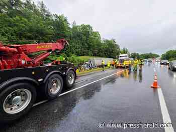 Police: Bad weather to blame for I-295 crash - Press Herald