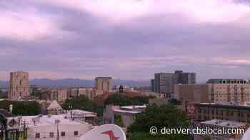 Denver Weather: Hot Start To The Week, Summer Cold Front Arrives Tomorrow - CBS Denver