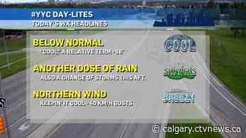 At least it's consistent? More cool, wet weather ahead - CTV News
