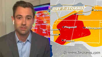 Critical fire weather out West, extreme heat in Plains as Saharan dust lingers - Fox News