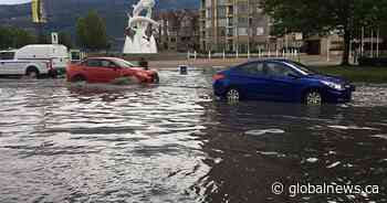 Weather: Severe thunderstorm pelts Central, North Okanagan with rain - Globalnews.ca