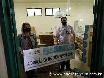 Doações da JBS chegam a Salto Veloso - Michel Teixeira