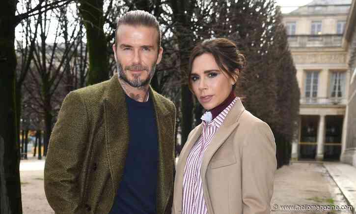 David Beckham reveals source of conflict with wife Victoria during lockdown - HELLO!