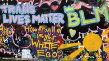 Black Lives Matter mural in Gatineau was vandalized, artist says - CBC.ca