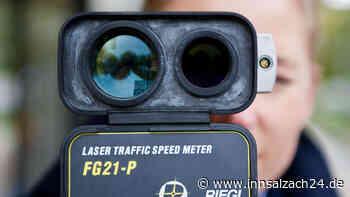 Lasermessung auf der Kraiburger Straße Pressemeldung der PI-Waldkraiburg - innsalzach24.de