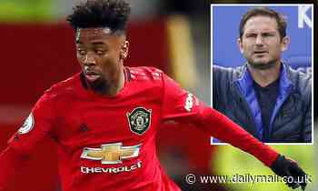 'It's never been mentioned at my end': Frank Lampard shoots down talk of Angel Gomes joining Chelsea