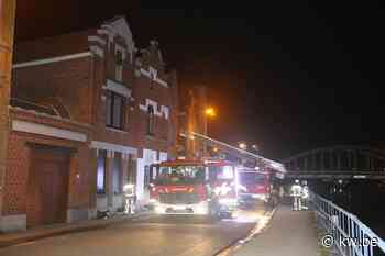 Brand in leegstaande woning langs Oostkaai in Menen is wellicht aangestoken - Krant van Westvlaanderen