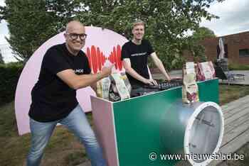 Chocoladegigant stuurt favoriete liedjes van liefst 4.000 me... (Torhout) - Het Nieuwsblad