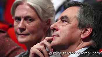 Former French prime minister Francois Fillon sentenced to jail - The Globe and Mail