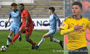 Former Manchester City youth coach admits Jadon Sancho had to leave but Phil Foden was more talented