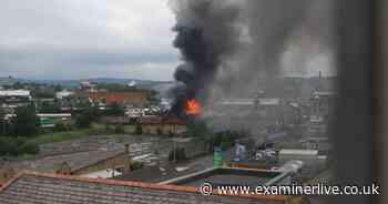 Firefighters tackle huge Bradford building involving asbestos sheeting - ExaminerLive