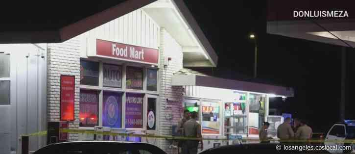 Robber Guns Down Gas Station Attendant In Lancaster