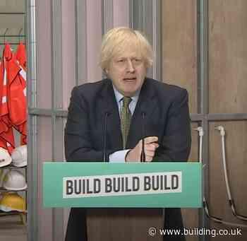 Boris Johnson says building industry will help fix nosediving economy