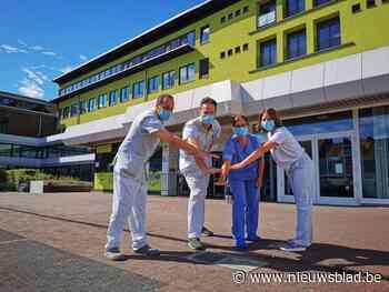 """AZ Jan Portaels eert medewerkers op bussen en op stadhuis: """"We willen mensen doen kiezen voor een zorgberoep"""""""