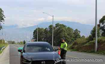 Hubo 1.923 conductores sancionados en festivo de San Pedro y San Pablo - El Colombiano