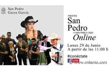 Fiestas de San Pedro y San Pablo serán en línea - Milenio