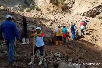 Deslave en Pimampiro destruyó un puente - Diario El Norte