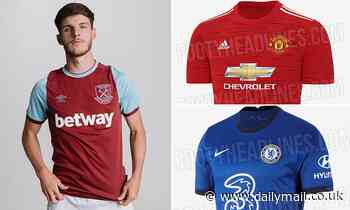 Premier League kits 2020-21: Man United, Arsenal, Chelsea, Liverpool and the rest
